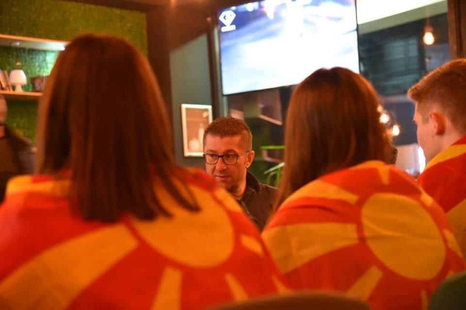 Mickoski in Kicevo: Zaev only creates divisions in Macedonia