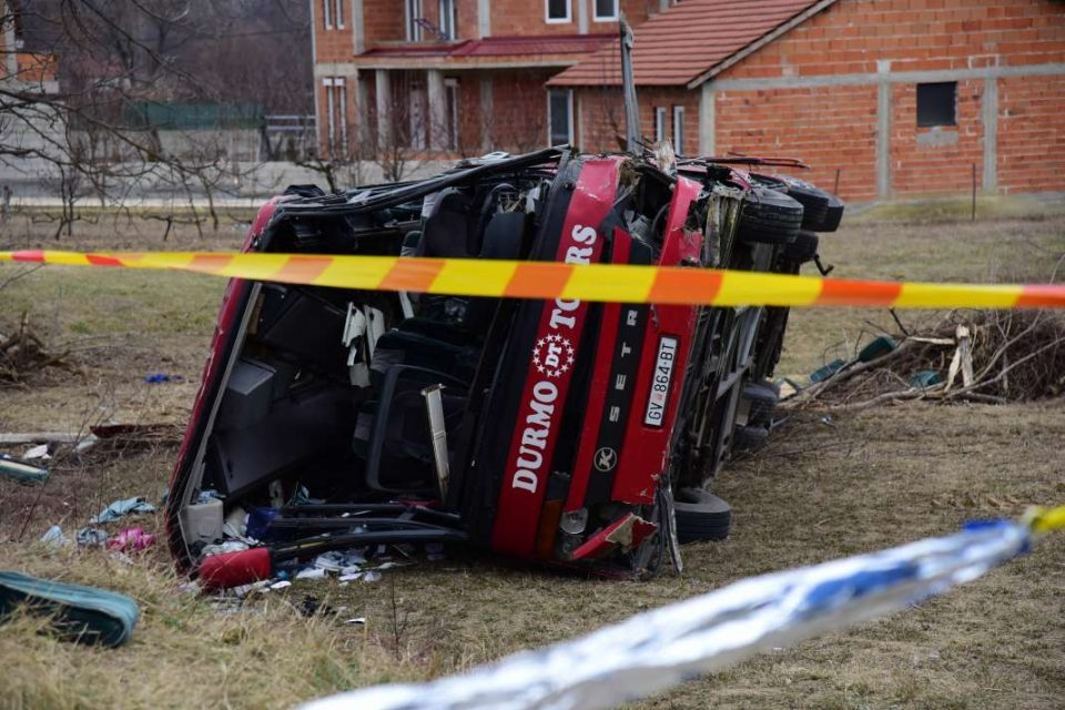 Public Prosecutor to present information on the Laskarci bus crash