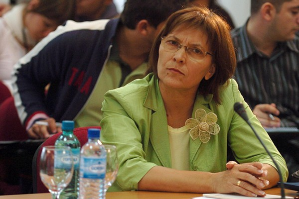 Once a powerful businesswoman, Kiraca Trajkovska kicked out of her apartment by the police
