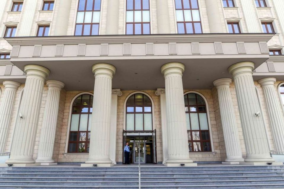 VMRO-DPMNE sees today's sentencing as part of the on-going political persecution