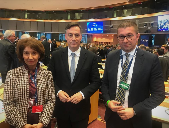 McAllister pledges to ensure fair and democratic elections: Mickoski meets EPP Vice President