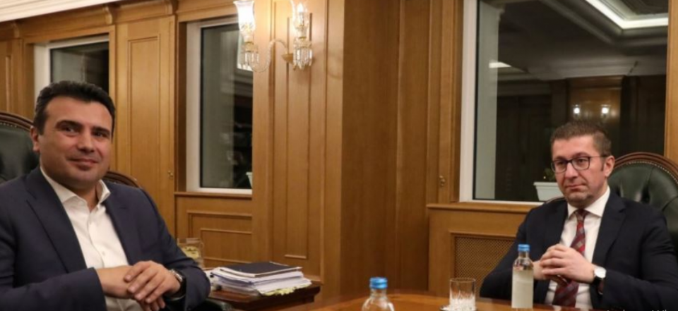 Mickoski – Zaev meeting: VMRO will not accept sham elections