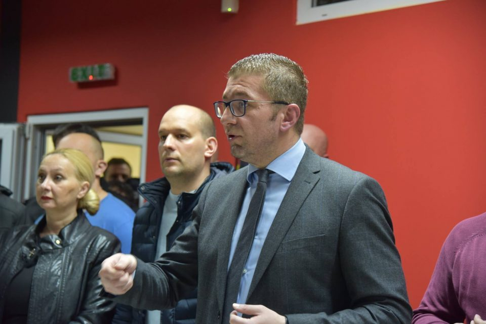 Mickoski says Zaev is lying to the public on the economy and the foreign investments