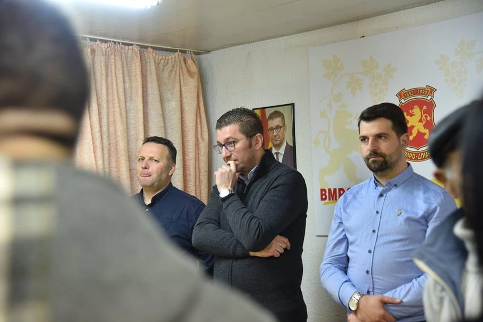 Mickoski: Zaev is turning Macedonia into a mafia state