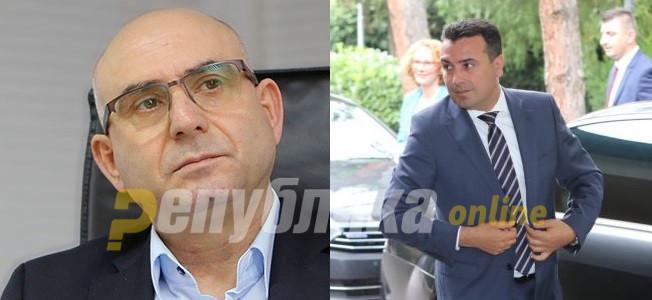 Gruevski: Cavkov's arrest is the result of Zoran Zaev's personal vendetta against him