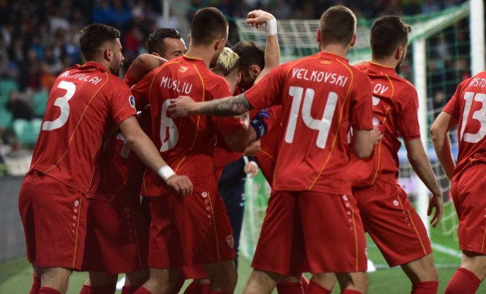 Macedonia draws Slovenia 1:1 in European Championship qualifier