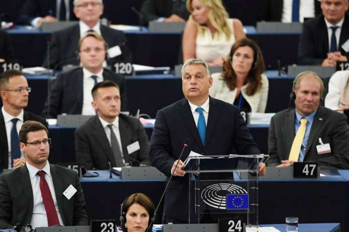 EPP pushing the Hungarian Fidesz party out with a list of impossible demands