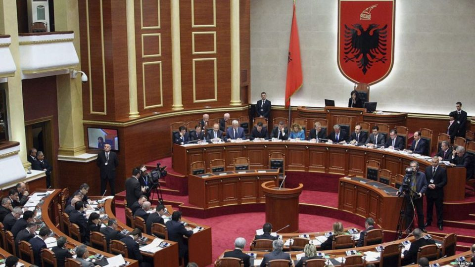 Albania opposition supporters try to storm parliament