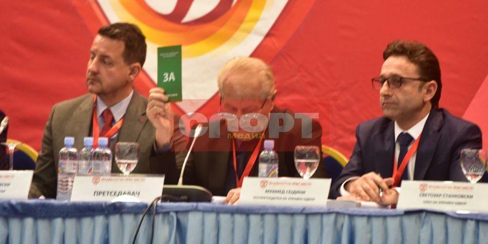 Muamed Sejdini elected new FFM president