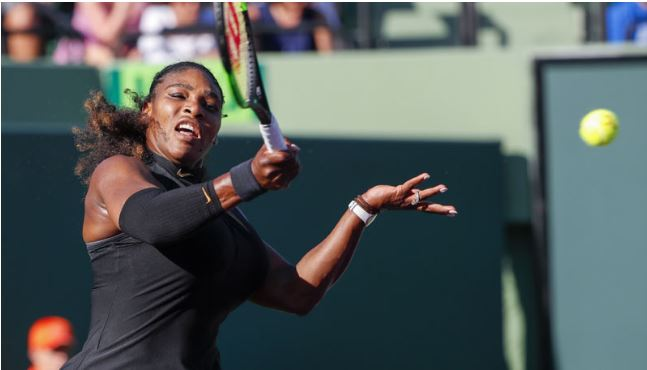 Serena Williams forced to retire with illness at Indian Wells
