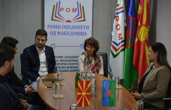 Siljanovska says that as President she will not allow the Government to forget about Roma rights and priorities