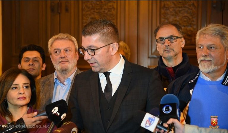 Mickoski: We will start a new era for a dignified, economically reborn and proud Republic of Macedonia