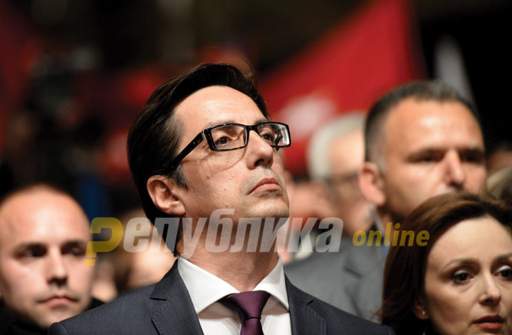 Throughout his political career, Pendarovski assured the public that the Macedonian name would be safe in his hands