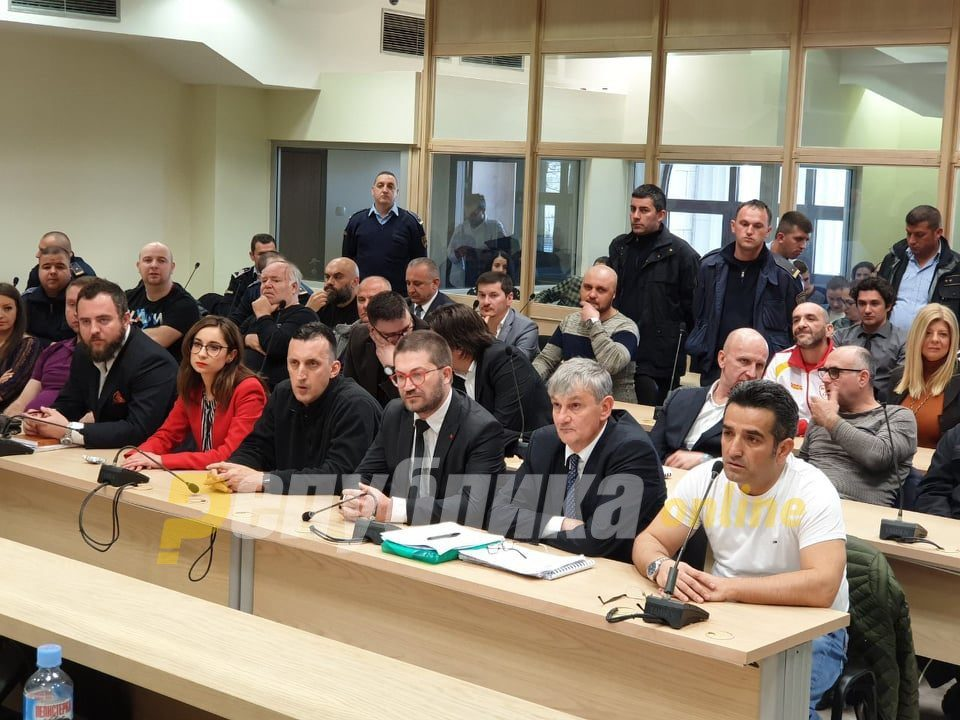 Judge Kacarska orders 200 years in prison for the group charged over the April 2017 Parliament incident