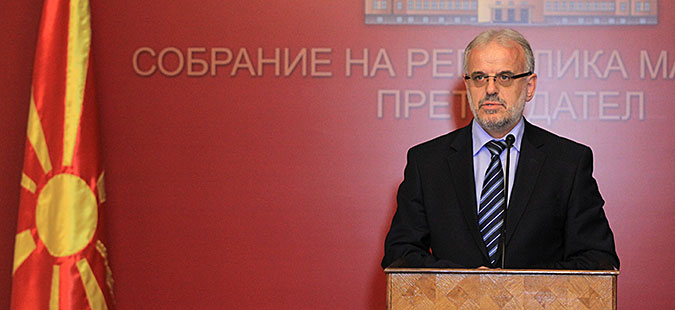 Xhaferi rejects Deskoska's request to keep the Parliament open throughout the election campaign