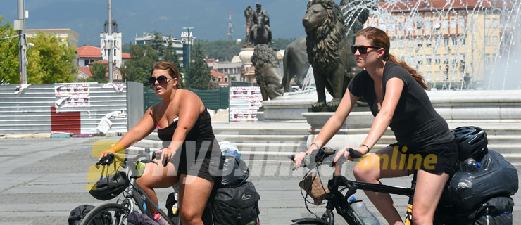 Drop in the number of foreign tourists