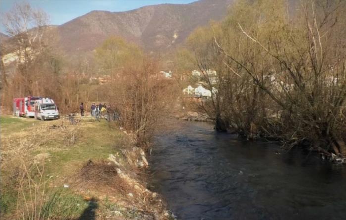Body recovered from the Vardar river near Gostivar