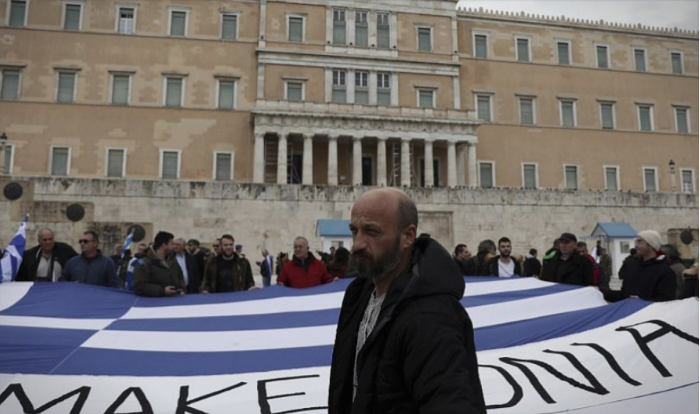 "Greek man attacked in Athens over a ""Macedonia"" shirt"
