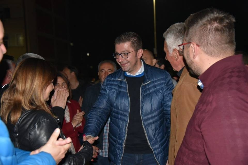 Mickoski in Ohrid: On May 5 we will score double victory, for president and mayor