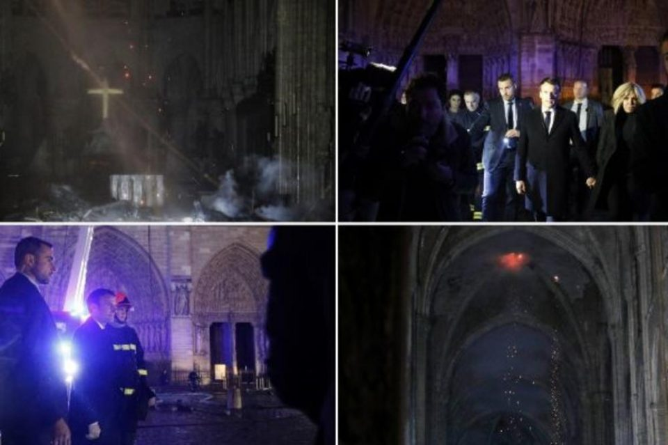 French billionaires have pledged 300 million euros to help rebuild the Notre Dame Cathedral