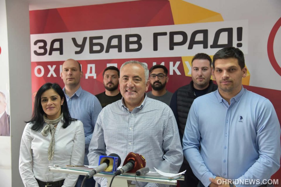 """Miloshevski: People are fed up with lies, """"Beautiful City"""" option wins in the second round"""