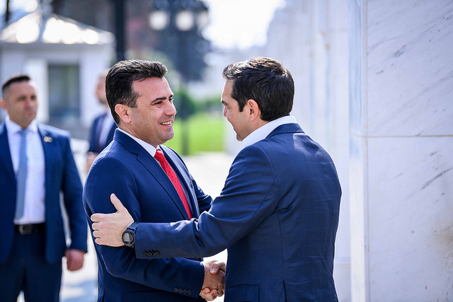 "Tsipras says ""Skopje 2014"" monuments are part of ancient Greek history"