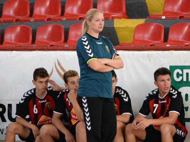 Andrijana Budimir named coach of the male U-17 handball team
