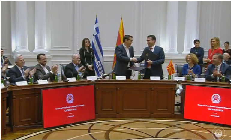 Skopje and Athens sign several agreements to boost cooperation