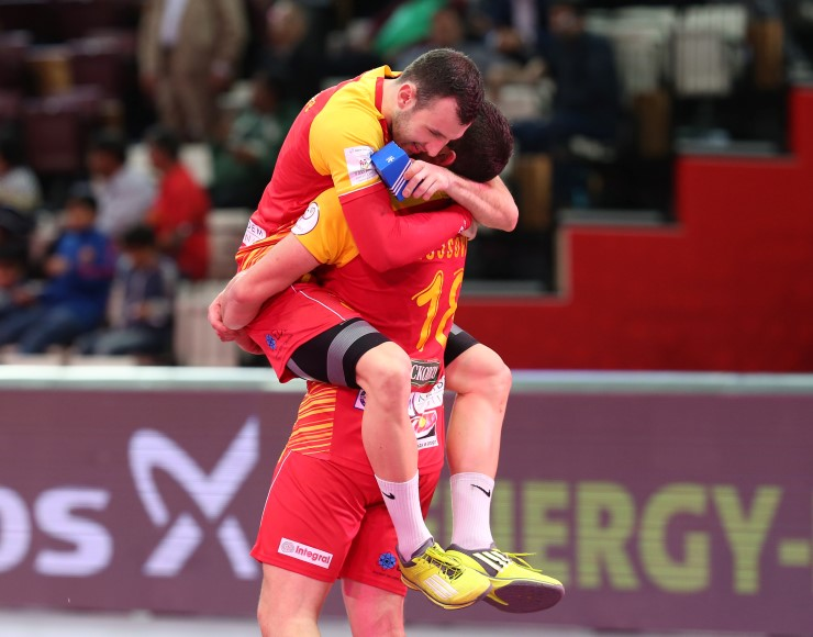 Thriller in Iceland, Macedonia wins in the last second