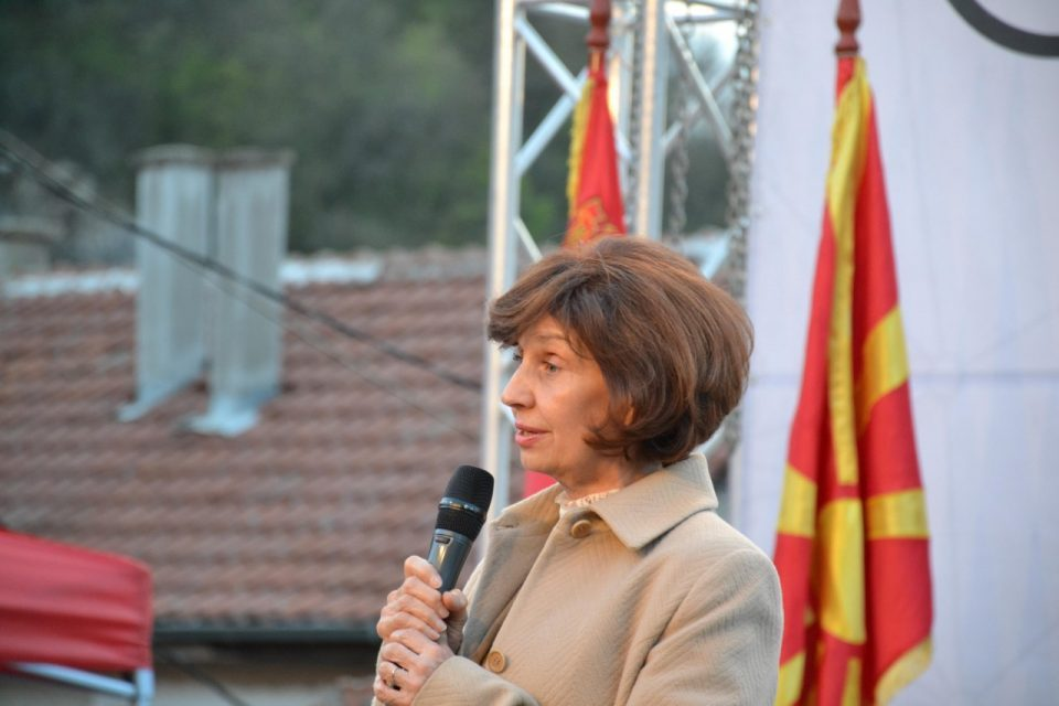 Siljanovska if she wins the election: I will give up some of my funds for the benefit of the poor