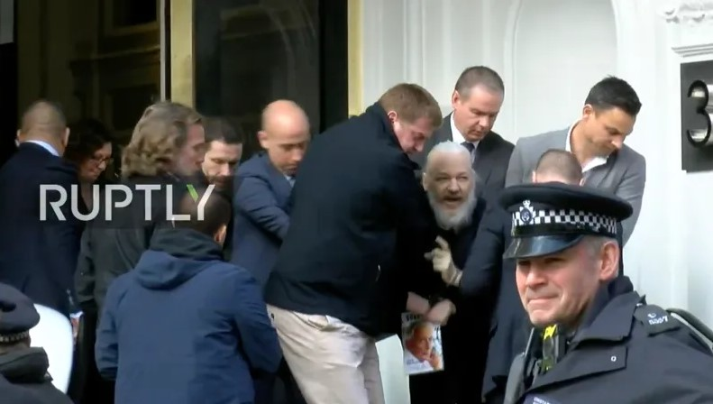 British police arrest WikiLeaks founder Julian Assange