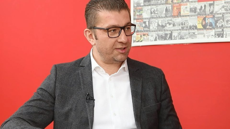 Mickoski for Republika: All of Zaev's promises turned out to be empty