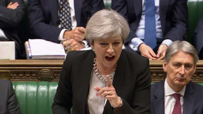 Theresa May considering vote on second Brexit referendum