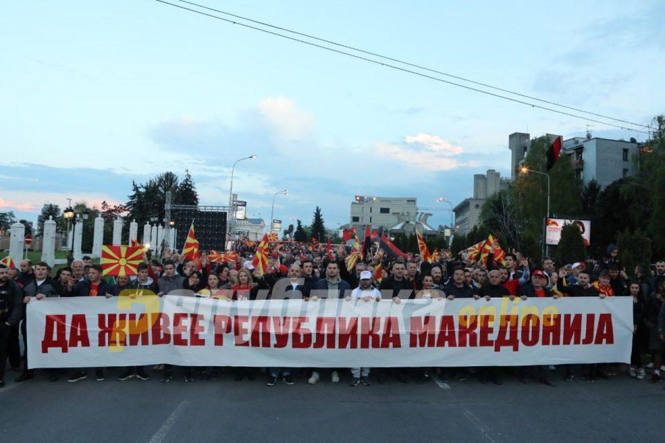 Photos from VMRO-DPMNE rally in Skopje