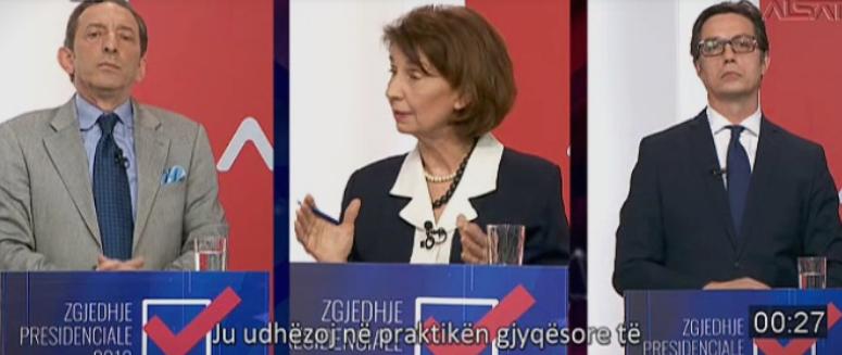 Siljanovska: In 1997, Pendarovski was part of action in which Albanians were injured in Gostivar and Tetovo