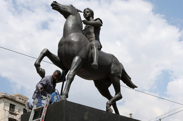 Athens installs Alexander the Great statue