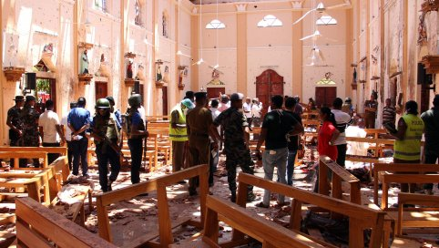 'Islamic State fighters' were behind Sri Lanka attacks, group says