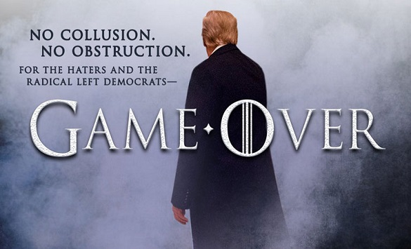 Trump to Democrats and the media: Game Over
