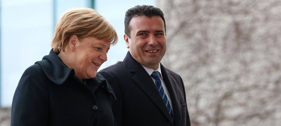 Zaev-Merkel telephone conversation: It's time for the EU Council to adopt positive decision