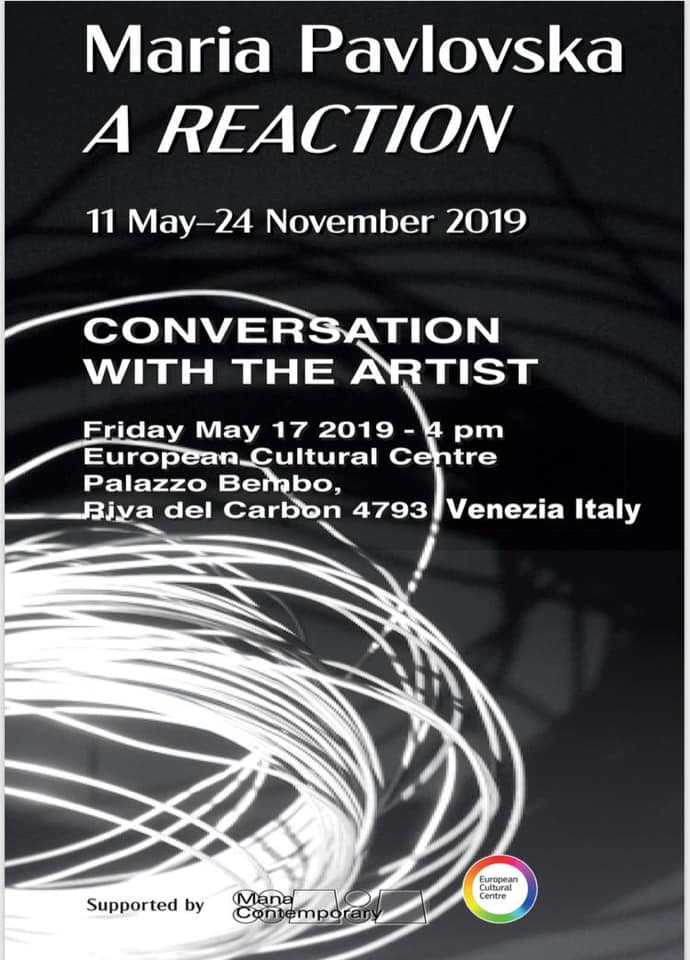 Conversation with the Artist: European Cultural Centre announced event with Maria Pavlovska during Venice Biennale