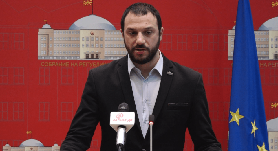 Bogoevski pushes ahead with his attempt to strip Nikola Gruevski of his parliamentary mandate