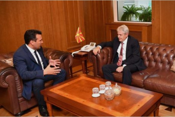Zaev and Ahmeti meet to plan their purge of corrupt Government members