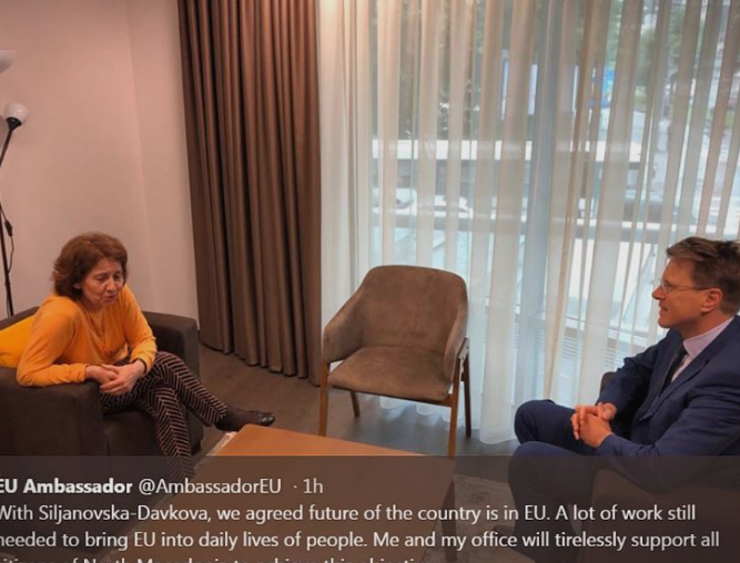 Zbogar – Siljanovska Davkova: The future of the country is in EU