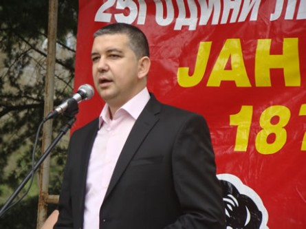First Macedonian member of Parliament to be sworn in Albania