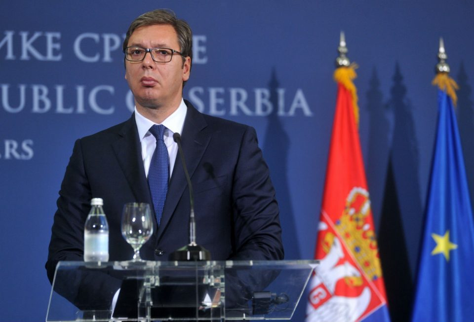 President Vucic party wins absolute majority in the Serbian Parliament