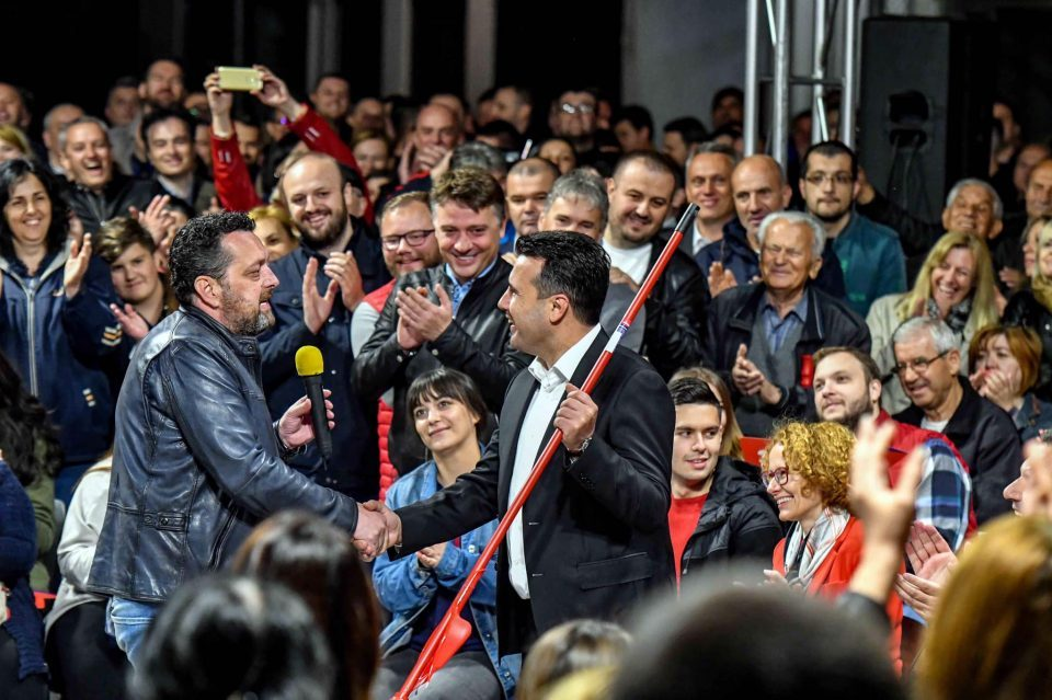 Zaev insists his purge will begin in June