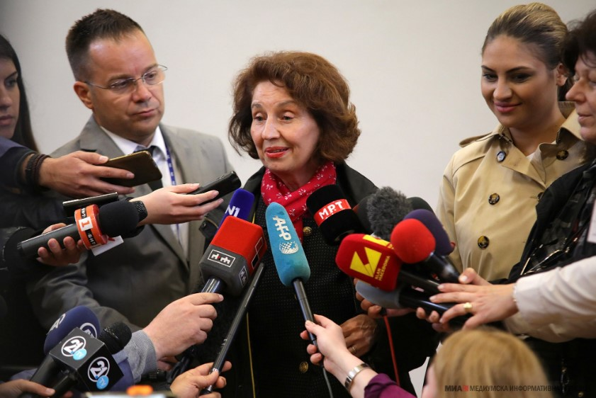 Siljanovska hopes to see the end of the political winter in Macedonia