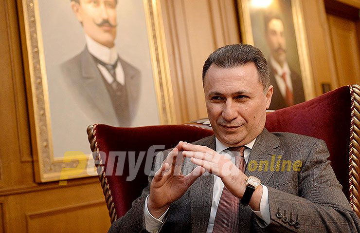Gruevski: Tsipras never proposed such talks that I have refused