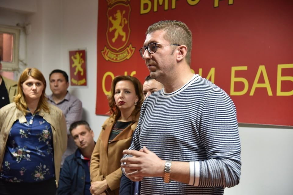 Mickoski says that Zaev has no credibility to fight corruption generated in his own Government