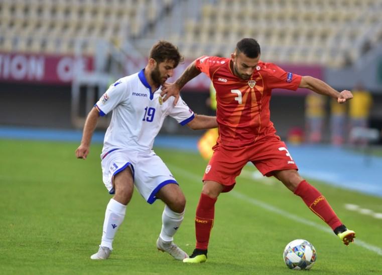 Macedonian Ivan Trickovski named best football player in Cyprus